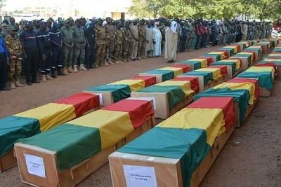 Mali : 16 morts au moins et 10 blessés parmi des soldats  lors d'une attaque terroriste dans le centre