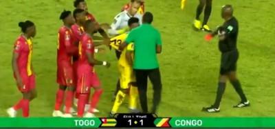 Togo-Congo :  Mondial 2022, match nul 1-1 à Lomé, deux buts des Eperviers