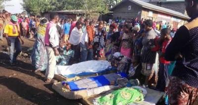 RDC : Huit civils ligotés et tués par des combattants présumés ADF à Béni