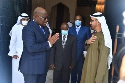 RDC : Aux Emirats Arabes Unis, Félix Tshisekedi obtient une enveloppe d'1 milliard de dollars et 30 véhicules militaires