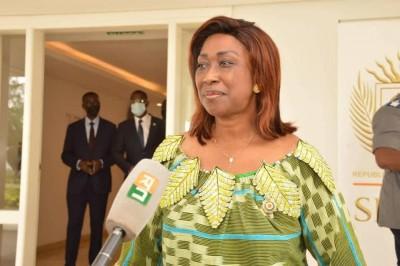 Côte d'Ivoire : Sur proposition de Jeannot Ahoussou, Ouattara nomme Chantal Fanny Vice-Présidente du Sénat chargée de la Diaspora et de la Coopération Internationale