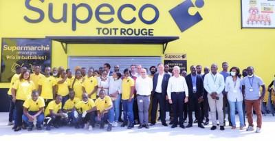 Côte d'Ivoire : Cfao Retail lance son troisième Supéco à Yopougon Toit Rouge avec près de 4 000 références alimentaires et un large choix de produits nécessaires à la vie quotidienne