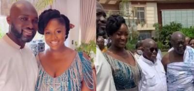 Ghana :  La 3e fille d'Akufo-Addo mariée au fils de Kofi Ghana