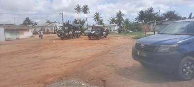 Côte d'Ivoire :  Abatta village, l'intronisation de Djomo Hyacinthe par ses partisans n'a pas eu lieu, la cérémonie empêchée par les éléments des forces de l'ordre déployés dans le village