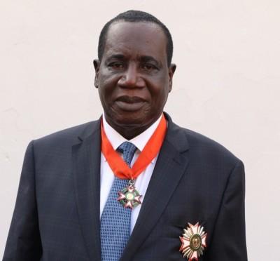 Côte d'Ivoire :    Disctinction, l'IGE Ahoua N'Doli Théophile élevé à la dignité de G...