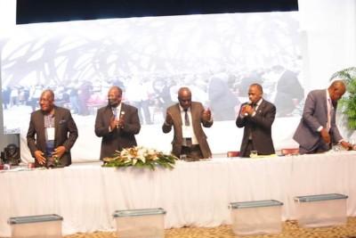 Côte d'Ivoire : Congrès du nouveau Parti PPA-CI, sans surprise Gbagbo élu président par acclamation et MartheAgoh, présidente du comité de contrôle