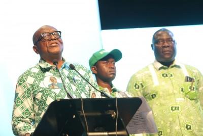 Côte d'Ivoire : Invité au congrès du Parti, Bédié envoie Philippe Ezaley livrer un message du PDCI et souhaite le renforcement de la solidarité des Partis d'opposition au delà des divergences