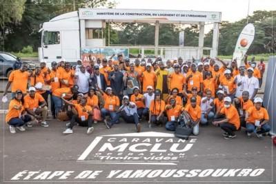 Côte d'Ivoire : Les lampions se ferment sur l'étape 1 de la caravane Opération tiroirs vides du MCLU, cap sur Korhogo