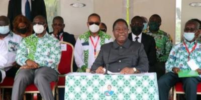 Côte d'Ivoire : Anniversaire du décès d'Houphouët, Bédié annonce un congrès en 2022 e...