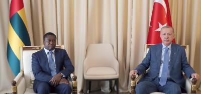 Togo-Turquie :  Coopération et lutte contre le terrorisme