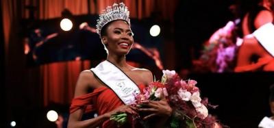 Afrique du Sud :  Elue Miss 2021, Lalela Mswane s'attaque au chômage