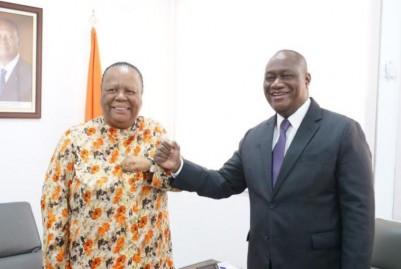 Côte d'Ivoire-Afrique du Sud : Avant la visite de Ramaphosa en décembre, Abidjan et Pretoria discutent du renforcement en matière de coopération militaire