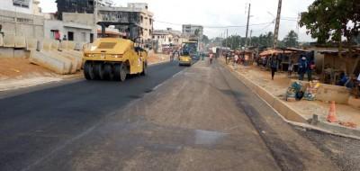 Côte d'Ivoire : Yopougon, les travaux de bitumage de plusieurs axes routiers lancés