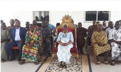 Côte d'Ivoire : Pour l'essor du peuple Baoulé, la reine Akoua Bony II invite les têtes couronnées à perpétuer l'enseignement de la cohésion