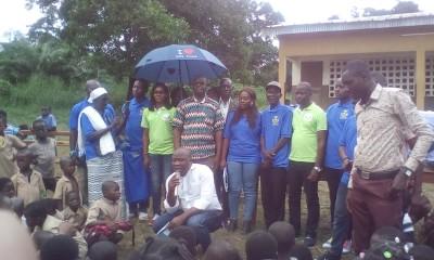 Côte d'Ivoire : Bouaké, à l'EPP de Totokro, 300 élèves équipés en matériel scolaire