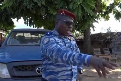 Côte d'Ivoire : Attaque du  poste de Tiémesson (Duékoué), le Gnl Apalo à ses hommes : « Quand vous travaillez correctement, vous avez Dieu avec vous »