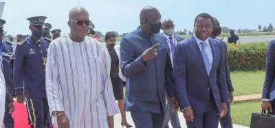 Liberia :  Discussions de Weah au Togo sur la Guinée