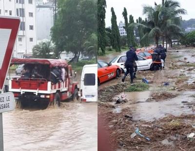Côte d'Ivoire : Fortes pluies à Abidian, à Yopougon, 02 écoliers emportés par les eaux