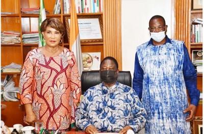 Côte d'Ivoire : En visite chez Bédié, Ouattara Gnonzié propose une restructuration de l'opposition  pour reprendre un nouvel élan