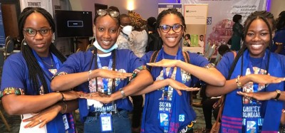 Togo :  4e Sommet mondial, jeunes filles stimulées à rêver grand