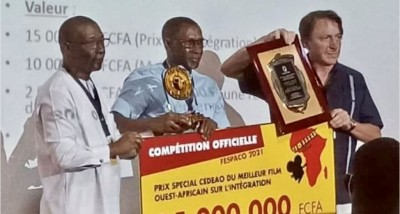 Burkina Faso : 17 prix spéciaux attribués aux films en compétition au Fespaco