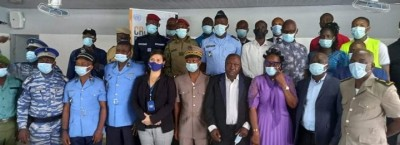 Côte d'Ivoire : Danané, simulation de crise transfrontalière, le plan d'intervention départemental présenté