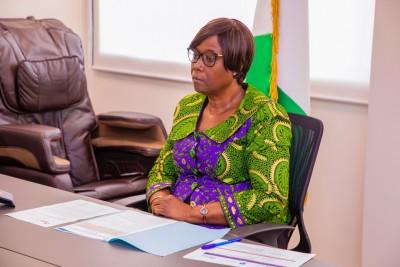 Côte d'Ivoire : La secrétaire d'Etat Clarisse Kayo Mahi participe par visioconférence à un séminaire sur le rôle de la femme dans les mouvements mutualistes