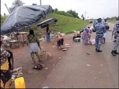 Côte d'Ivoire : Sûreté du trafic sur l'Autoroute du Nord, une opération de sécurisation et de déguerpissement en cours