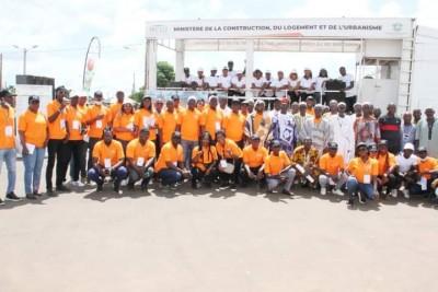 Côte d'Ivoire : Opération tiroirs vides du MCLU, à Korhogo, l'équipe du Ministre Brun...