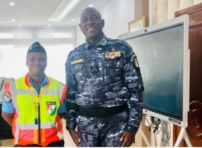 Côte d'Ivoire : Distinguée pour sa bravoure, le Sergent de Police Koman Marie Josée f...