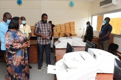 Côte d'Ivoire : Concours administratifs 2021, trois présumés fraudeurs épinglés, deux mis à la disposition de la Gendarmerie