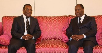 Côte d'Ivoire:   Alassane Ouattara reçoit Affi en fin de matinée au palais présidentiel selon un communiqué du FPI