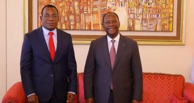 Côte d'Ivoire :    Affi affirme à Ouattara la position « du FPI d'être un parti de pr...