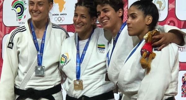 Gabon: Les panthères du Gabon remportent 3 médailles au judo lors de la 2ème journée de la 1...