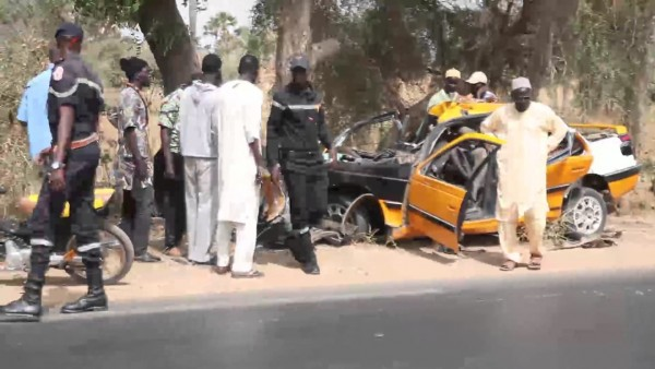 Sénégal: Sept personnes périssent dans un grave accident à Fatick