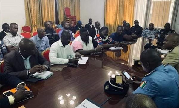 Côte d'Ivoire: Obsèques d'Arafat, les dispositions sécuritaires au centre d'une réunion entre préfet d'Abidjan et le comité d'organisation