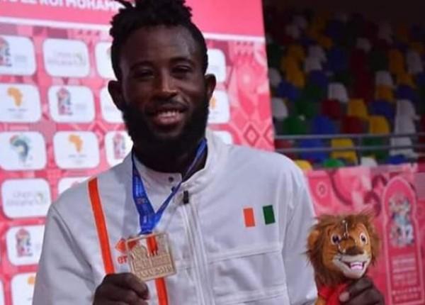 Côte d'Ivoire 12è Jeux africains,  Cissé Cheick et deux coéquipiers s'emparent  de  l'or dans la discipline du  Taekwondo