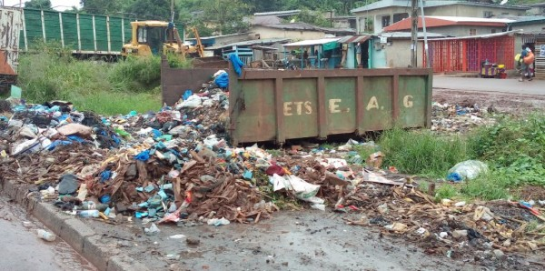Côte d'Ivoire: Man, à côté des rues fortement dégradées, la ville fait corps avec des dépotoirs géants