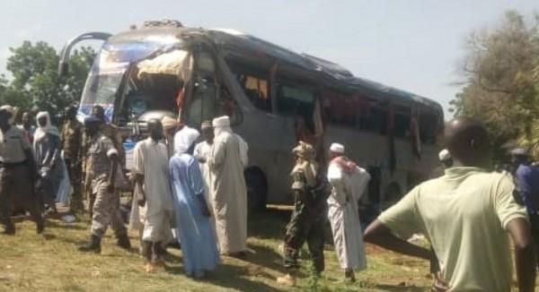Tchad: 09morts et 20 blessés dans un accident de la route ,le conducteur en fuite