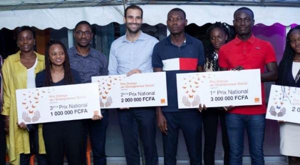 Côte d'Ivoire: 9ème édition à Abidjan du prix orange entrepreneur social Côte d'Ivoire 2019, un start-up venue de Daloa lauréate du concours