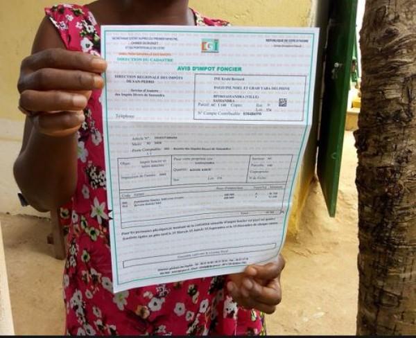 Côte d'Ivoire : Alerte, des personnes mal intentionnées réclament aux propriétaires de maisons le paiement des impôts fonciers