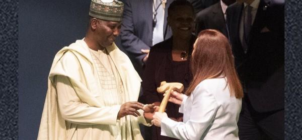 Nigeria: ONU, Muhammad-Bande prend la présidence de l'Assemblée générale, ses priorités
