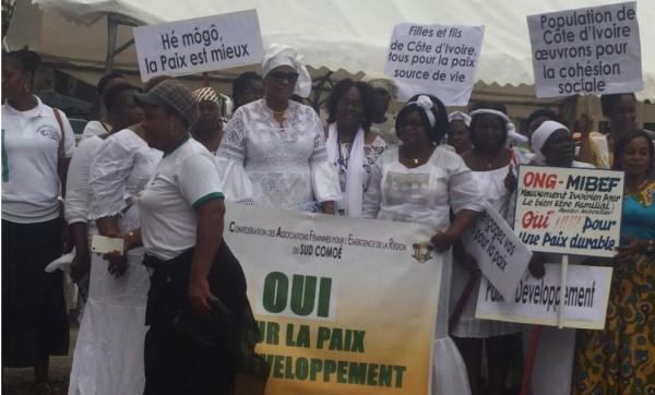 Côte d'Ivoire: 2020, depuis le Plateau, des femmes préoccupées avec la formation de deux blocs rivaux comme en 2011