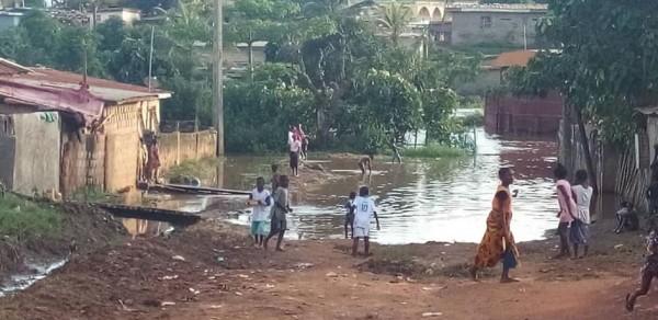 Côte d'Ivoire: Drame à Man, une fillette de 4 ans emportée par les eaux avec sa mère