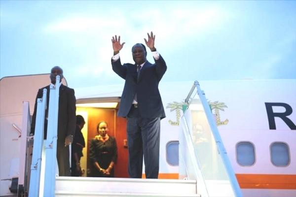 Côte d'Ivoire: Alassane Ouattara s'envole pour le Japon et la Russie