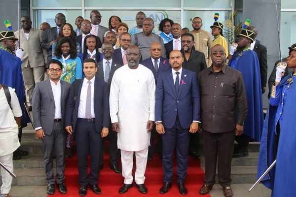 Gabon-Liberia: George Weah s'impregne des activités de la ZES de Nkok