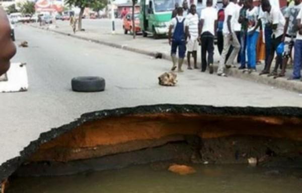 Côte d'ivoire: L'AGEROUTE dément les  dégradations graves de route dues aux pluies diluviennes