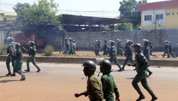 Guinée: 3ème mandat , des blessés graves à Conakry dans des heurts entre opposants et forces de sécurité