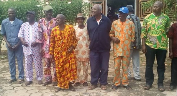 Côte d'ivoire : Pour la paix et la cohésion dans le Gbêkê, des chefs de villages d'un canton à la manœuvre