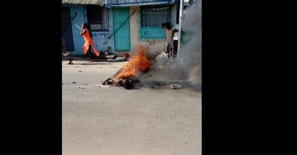 Côte d'Ivoire: Drame à Yopougon, il tue la femme de son frère est en retour brûlé vif par des riverains